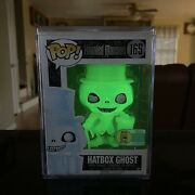 Funko Pop Disney The Haunted Mansion Hatbox Ghost Sdcc 2016 Le 1000