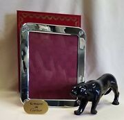 Sterling Silver Picture Frame 11.5 X 9 Made In Italy