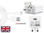 Fast Uk Wall Charger Plug / Usb Type C Data Charging Cable For Motorola Moto G6