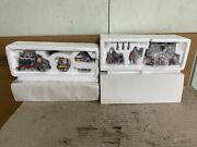 Lot Of 2 Dept. 56 Heritage Village Collection 56368 North Pole Express