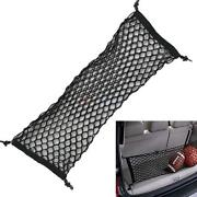 Parts Accessories Car Envelope Style Trunk Cargo Net Universal Used In Most Cars