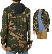 Leviand039s Macyand039s Camo Parka Water-resistant Jacket Coat Menand039s Large Army
