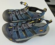 Keen Newport H2 Hiking Sandals Blue Water Trail Shoes Menandrsquos Size 9.5