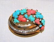 Crown Trifari Brooch And039hat Pinand039 Jewelry Pat Pend 1940and039s