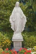 65 Blessed Mother Mary Religious Church Outdoor Garden Statue