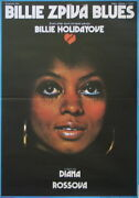 Lady Sings The Blues Film Poster Diana Ross Rare Style