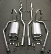 68-69 Hurst Olds 442 W-30 Factory Duel Exhaust System