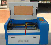 Mcwlaser 60w Co2 Laser Engraver Cutter Machine With Auxiliary Rotary Device
