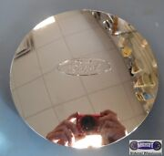 And03996-and03998 Ford Used Cap Chrome Ford Oval Clips And Wire Ring 7-1/2 Dia. 3175b