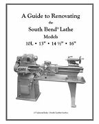Rebuild Manual For South Bend Lathe 10l, 10r, 13, 14.5 And 16