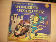 Golden Records Art Carney The Wizard Of Oz Lp 60s