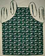 Xl Apron Chef Bbq Cook Made W Nfl Teams Fabrics Football Cotton Grill You Pick