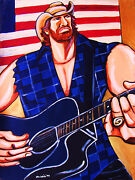 Toby Keith Print Poster Takamine Guitar Beer For My Horses Cd Hits Cowboy Hat
