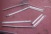 73-82 107 Chassis 450 380 5.0 Slc Left And Right Window Top Drip Moldings 8 Pc