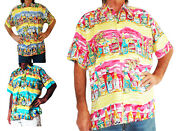 Loud Hawaiian Menand039s Shirt With Tropical Beer Bottles Holiday Stag Night Party