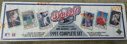 1991 Full Set Of Collectors Choice Upper Deck Baseball Cards
