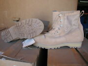 Military 15 1/2 Xw Army Combat Boots Temperate Desert New Tan Wellco Usa