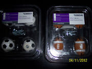 Bnib Style Selections 3-d Sports Drawer Pulls/knobs 4-in-pack Football Or Soccer