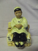 C1943 Mccarty Bros. California Pottery Ching Lee Flower Holder