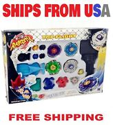 Beyblade Metal Fusion Masters Fight Launcher Rare Toy Set 4d Usa Seller
