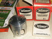 Rupp Nitro L/c 440 Piston Sets Wiseco 2269p1with L Rings Xenoah 1977-78 Forged
