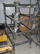 4 Dollies For 48 X 32 Storage Bins Material Handling Crate Dolly