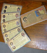 Westward Journey Nickels First Day Coin Covers +sacagaw