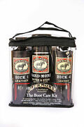 Bickmore Boot Care Kit - 8 Oz Cleaner, 8 Oz Conditioner+ Water And Stain Repellent