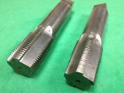 Acme Thread Tap 2 X 3-1/2 Double Left Trapezoidal Leadscrew Roughing And Finishing