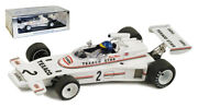 Spark S1776 Lotus 74 2 And039texacoand039 Rouen F2 1973 - Ronnie Peterson 1/43 Scale