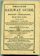 American Railway Guide And Pocket Companion - 1945 By Kalmbach Publishing