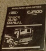 1990 Ford Cargo Truck Service Shop Repair Workshop Manual Brand New 1990