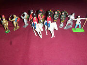 Vintage Britains English Soldiers Toy Figurines Collection Of 12