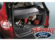 2013 Thru 18 Escape Oem Genuine Ford Parts Cargo Security Shade - Charcoal Black