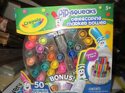 Crayola 588750 Telescoping Pip-squeaks Marker Tower Assorted Colors 50/set