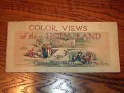 Christian Herald Color Views Of The Holy Land 1918 Rare