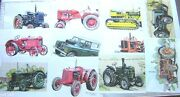 Classic Vintage Tractor Prints Pictures A4 8 X 5 Like Braces T Shirts Gillside