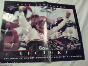 Dale Earnhardt Victory Poster The Intimidator 3