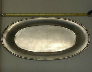 Antique Chinese 邵应堂 Bamboo Pattern Sterling Silver Plate