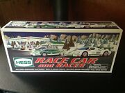 2009 Hess Race Car With Racer New In Box Really Niece