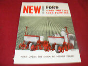 Ford Tractor 4 Row Pull Type Corn Planters Dealer's Brochure Ad-8277