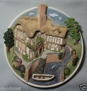 David Winter On The Riverbank Wall Plaque Collector's Guild Mint And Reduced