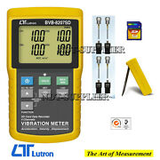 Lutron Bvb-8207sd 4 Channels Vibration Meter Recorder Real Time Data Recorder