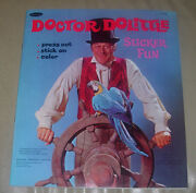 Doctor Dolittle Sticker Fun Whitman 1967 Intact And Unused Clean And Sharp