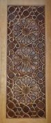 Handcrafted Woody Doors - Made By Teak Wood And Mother Of Pearl