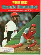1975 10/20 Sports Illustrated Magazine Johnny Bench,reds Luis Tiant,red Sox Vg