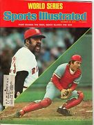 1975 10/20 Sports Illustrated Magazine Johnny Bench,reds Luis Tiant,red Sox Gml
