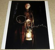 David Bradley Signed 11x14 Harry Potter Goblet Of Fire Argus Filch Exact Proof
