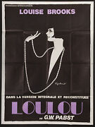 Pandoraand039s Box/loulou French 1p Ri Poster G.w. Pabst Louise Brooks Filmartgallery