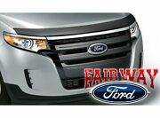 2011 Thru 2014 Edge Oem Genuine Ford Parts Custom Grille Grill Inserts New
